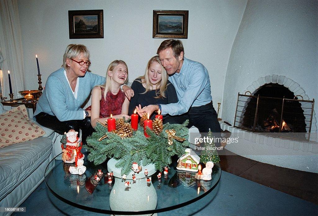 Horst Janson, Ehefrau Hella , Töchter;Laura Maria Und Sarah Jane (