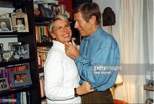 Horst Janson mit Ehefrau Hella HomestoryMünchen Weihnachten