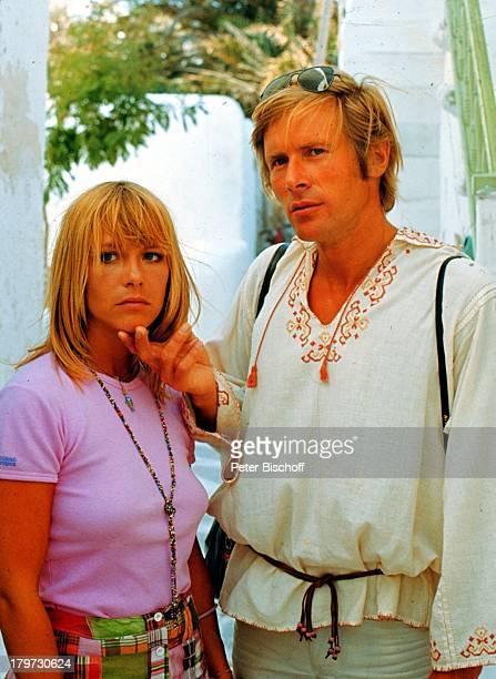 Horst Janson mit Monika Lundi Urlaub inGriechenland