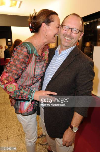 Horst Kirchberger and his wife Susanne Kirchberger attend the Barbara Sturm presentation of 'Molucular Skin Care' at Horst Kirchberger Makeup Studio...