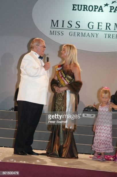 Horst Klemmer Anja HörnichClüver und Kind 'Das große Miss GermanyTreffen' 'Hotel Colosseo' 'EuropaPark' Rust BadenWürttemberg Deutschland Europa...