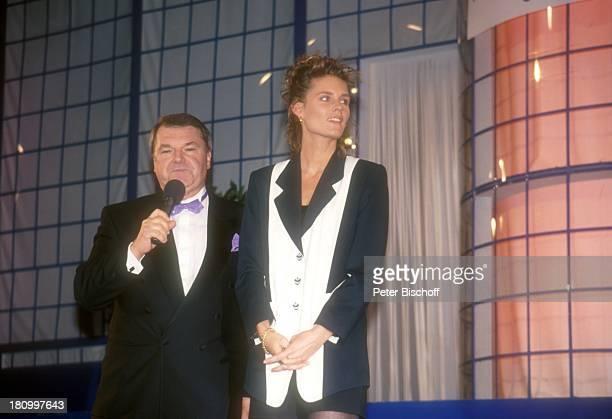 Horst Klemmer Katrin Krabbe Hannover Hotel 'Maritim' Wahl 'Miß Germany' 1994 Moderator Sportlerin Leichtathletin Sprinterin Läuferin Prominente...