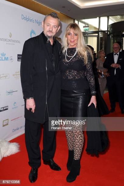 Horst Kordes and Carina Klemens Kordes attend the charity event Dolphin's Night at InterContinental Hotel on November 25 2017 in Duesseldorf Germany