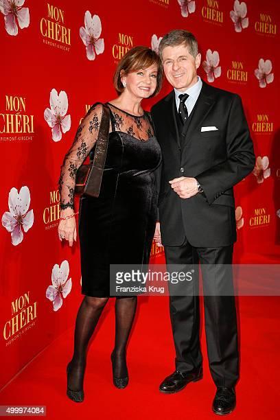 Horst Kummeth and his wife Eva Kummeth attend the Mon Cheri Barbara Tag 2015 at Postpalast on December 4, 2015 in Munich, Germany.
