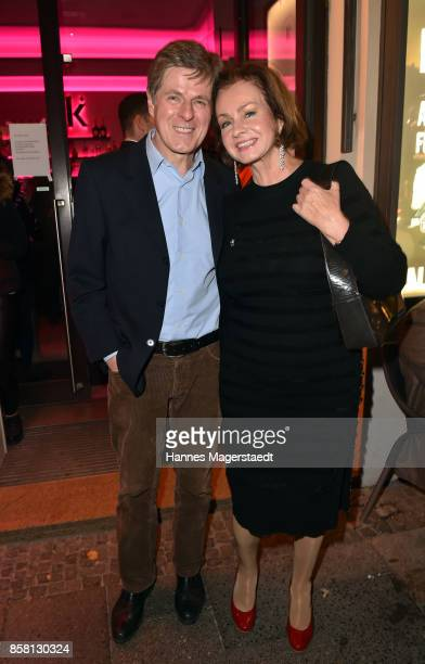 Horst Kummeth and his wife Eva Kummeth during the 'Die Kulisse Restaurant Reopening Party' on October 5 2017 in Munich Germany
