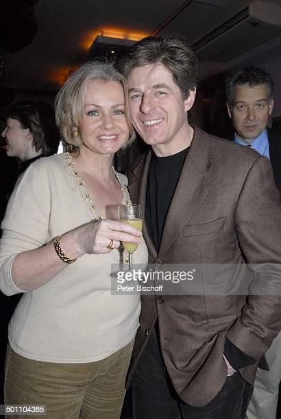 """Horst Kummeth, Ehefrau Eva, Party """"ndF: after work 2008 - Pressecocktail"""", München, Bayern, Deutschland, Europa, """"neue deutsche Filmgesellschaft"""",..."""