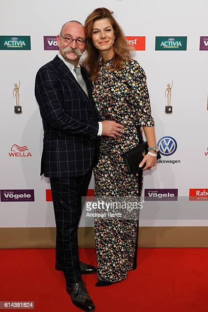 Horst Lichter and his wife Nada Lichter attend the 'Goldene Bild der Frau' award at Stage Theater on October 13 2016 in Hamburg Germany