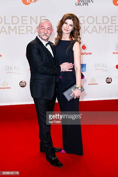 Horst Lichter and his wife Nada Lichter attend the Goldene Kamera 2016 on February 6 2016 in Hamburg Germany