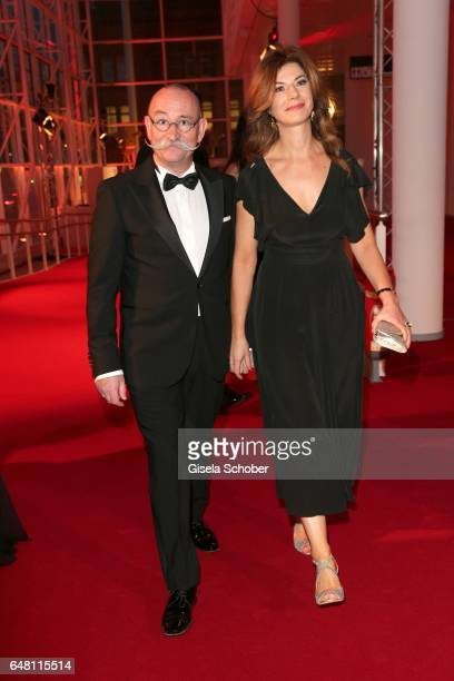 Horst Lichter and his wife Nada Lichter during the Goldene Kamera reception at Messe Hamburg on March 4 2017 in Hamburg Germany