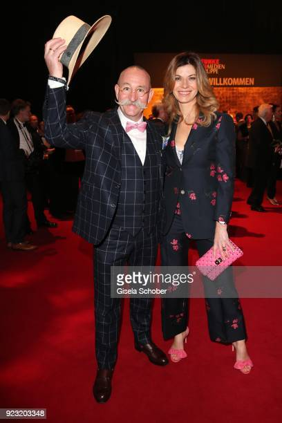 Horst Lichter and his wife Nada Lichter during the Goldene Kamera reception on February 22 2018 at the Messe Hamburg in Hamburg Germany