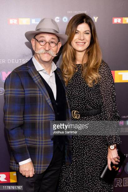 Horst Lichter and Nada Lichter attend the 23rd annual German Comedy Awards at Studio in Köln Mühlheim on October 02 2019 in Cologne Germany