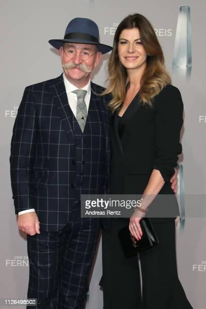 Horst Lichter and Nada Lichter attend the German Television Award at Rheinterrasse on January 31 2019 in Duesseldorf Germany