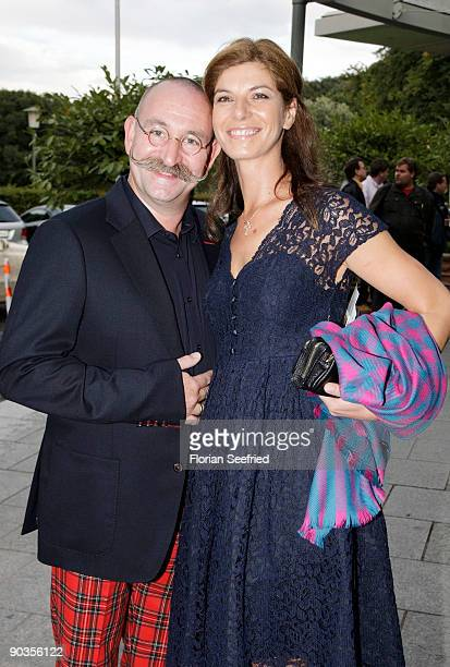 Horst Lichter and wife Nada attend the 'UNICEFGala' at Park Hotel on September 5 2009 in Bremen Germany