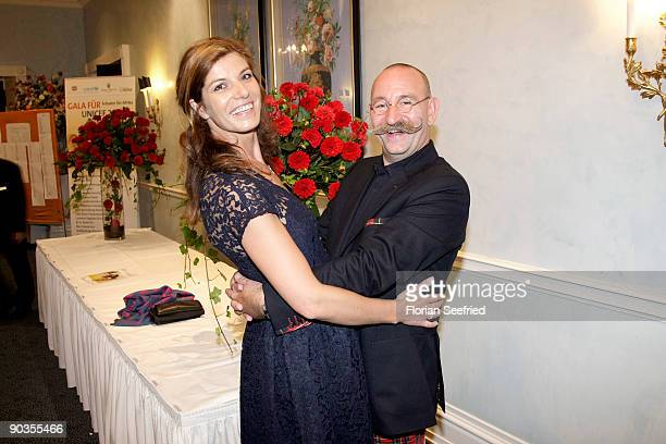 Horst Lichter and wife Nada Lichter attend the 'UNICEFGala' at Park Hotel on September 5 2009 in Bremen Germany
