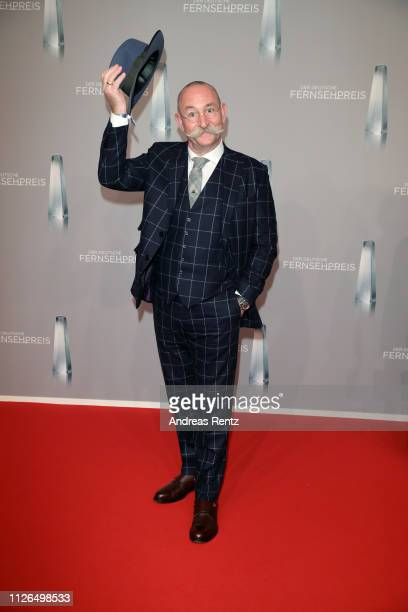 Horst Lichter attends the German Television Award at Rheinterrasse on January 31 2019 in Duesseldorf Germany