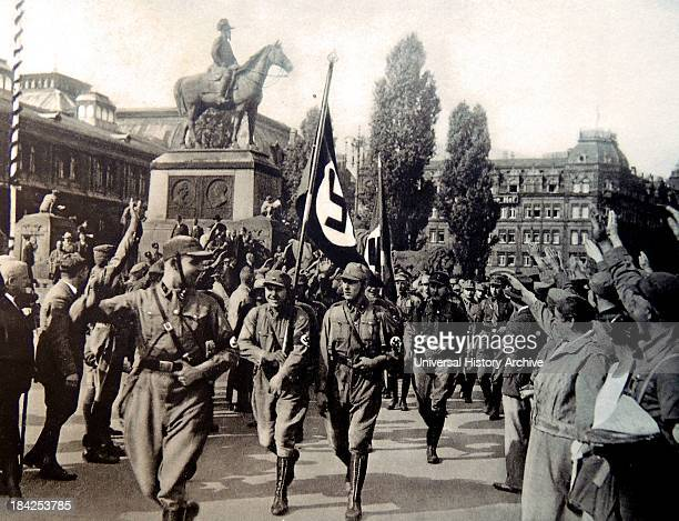 Horst Ludwig Wessel German Nazi Party activist and an SASturmführer who was made a posthumous hero of the Nazi movement following his violent death...