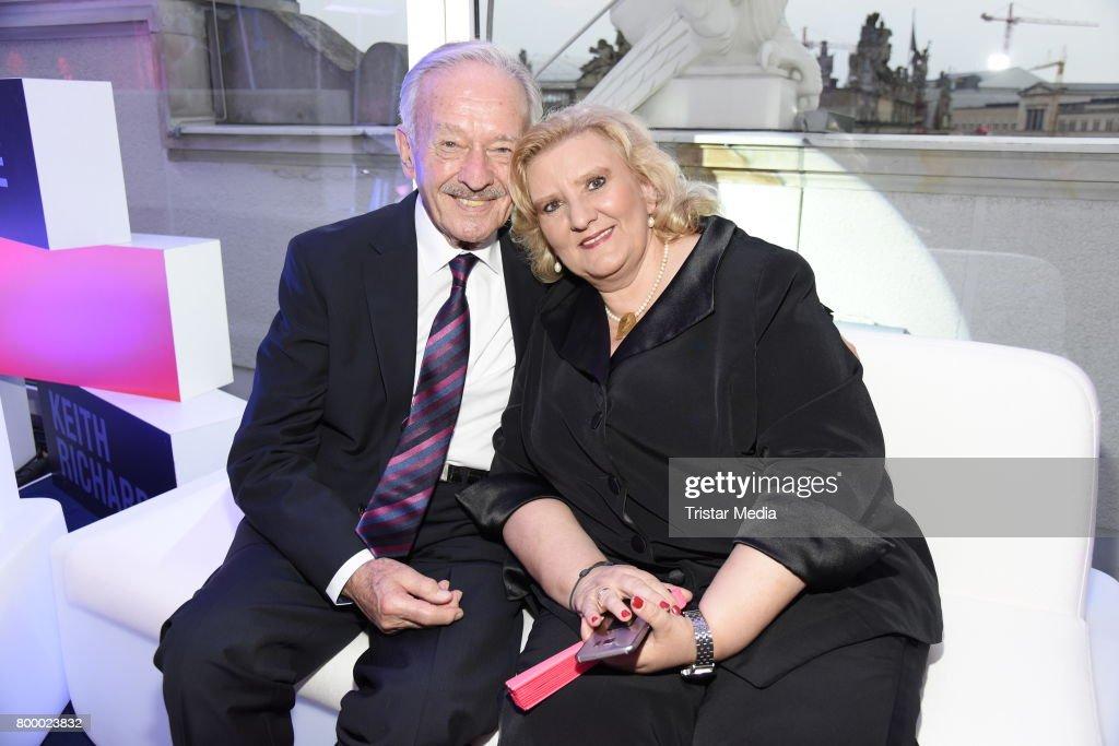 Horst Naumann And His Wife Martina Linn Naumann Attend The News