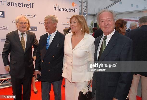 Horst Naumann Heide Keller Siegfried Rauch Markus Schächter 10 ZDFHansetreff Cruise Center in der Hafencity Hamburg Deutschland Europa roter Teppich...