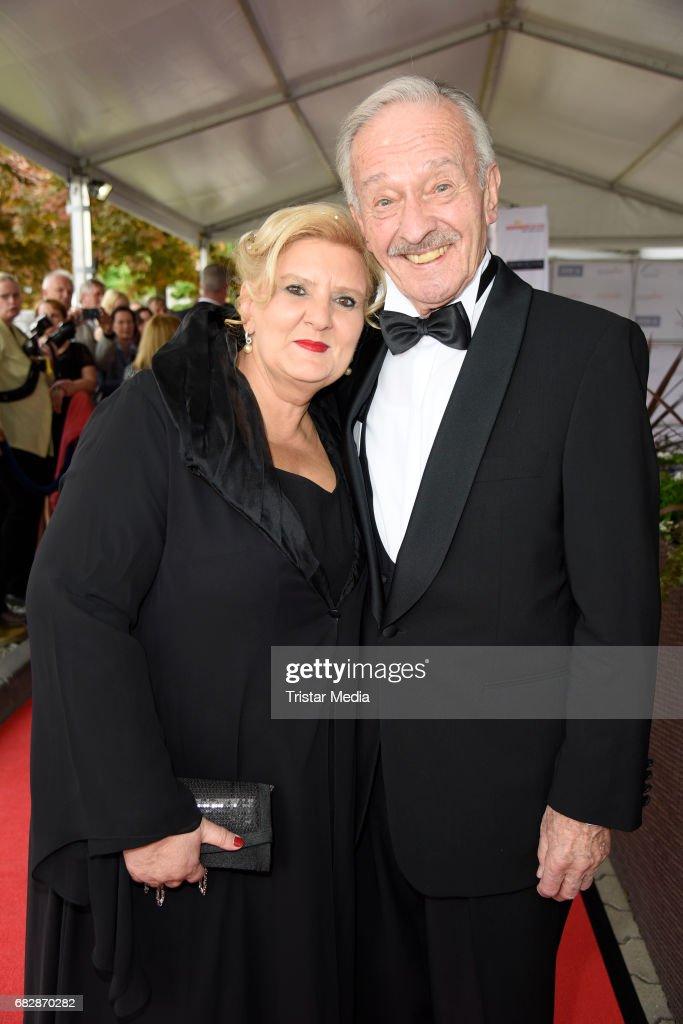 Horst Naumann With His Wife Martina Linn Naumann Attend The Goldene