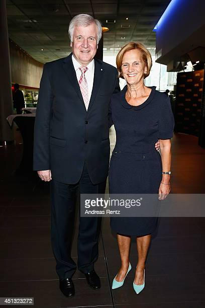 Horst Seehofer and wife Karin attend the Opening Night of the Munich Film Festival 2014 at Mathaeser Filmpalast on June 27 2014 in Munich Germany