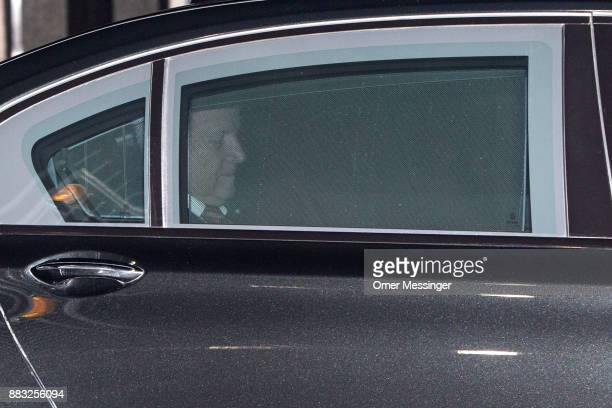 Horst Seehofer Governor of Bavaria and leader of the Bavarian Christian Democrats leaves after a meeting of the CSU the German Christian Democrats...