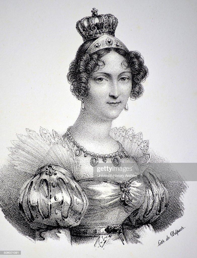 Hortense de Beauharnais. : Photo d'actualité