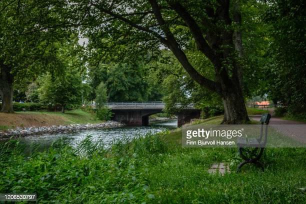 hortenskanalen, the canal in horten - finn bjurvoll stock pictures, royalty-free photos & images