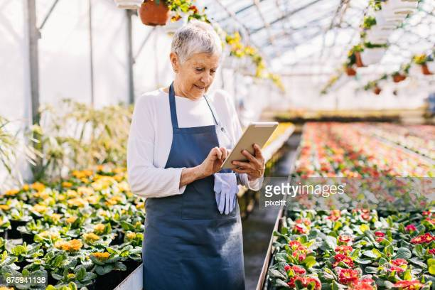 Horticulture business owner