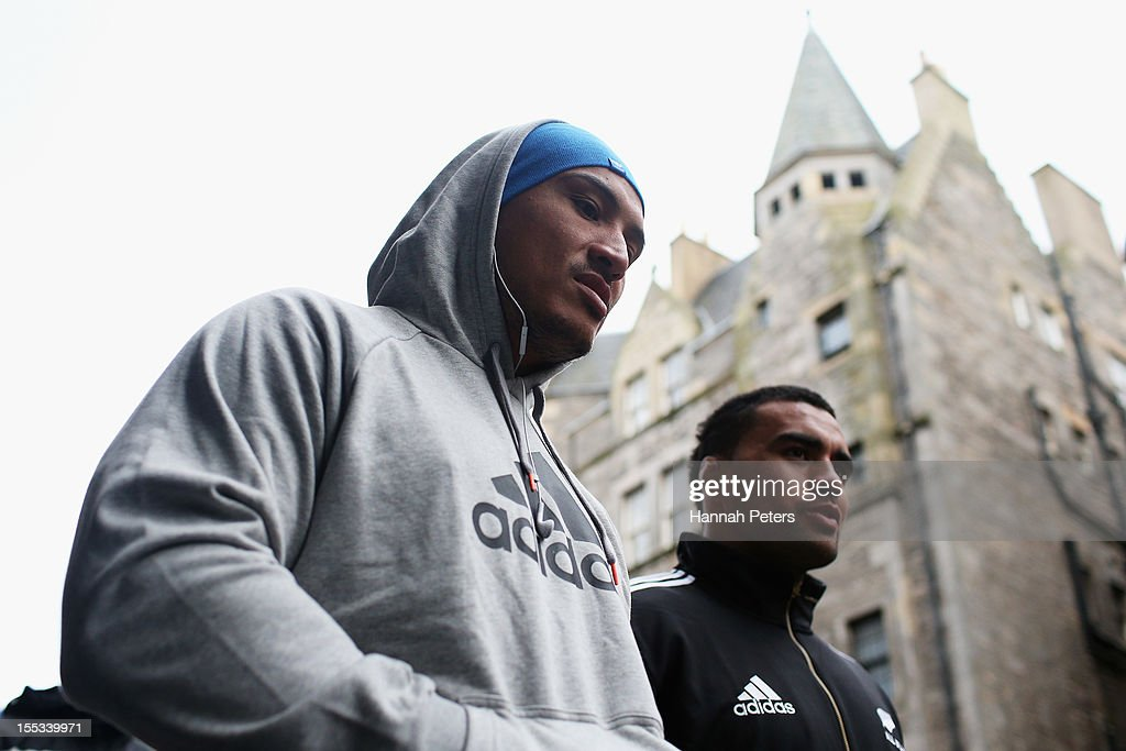 All Blacks Explore Edinburgh