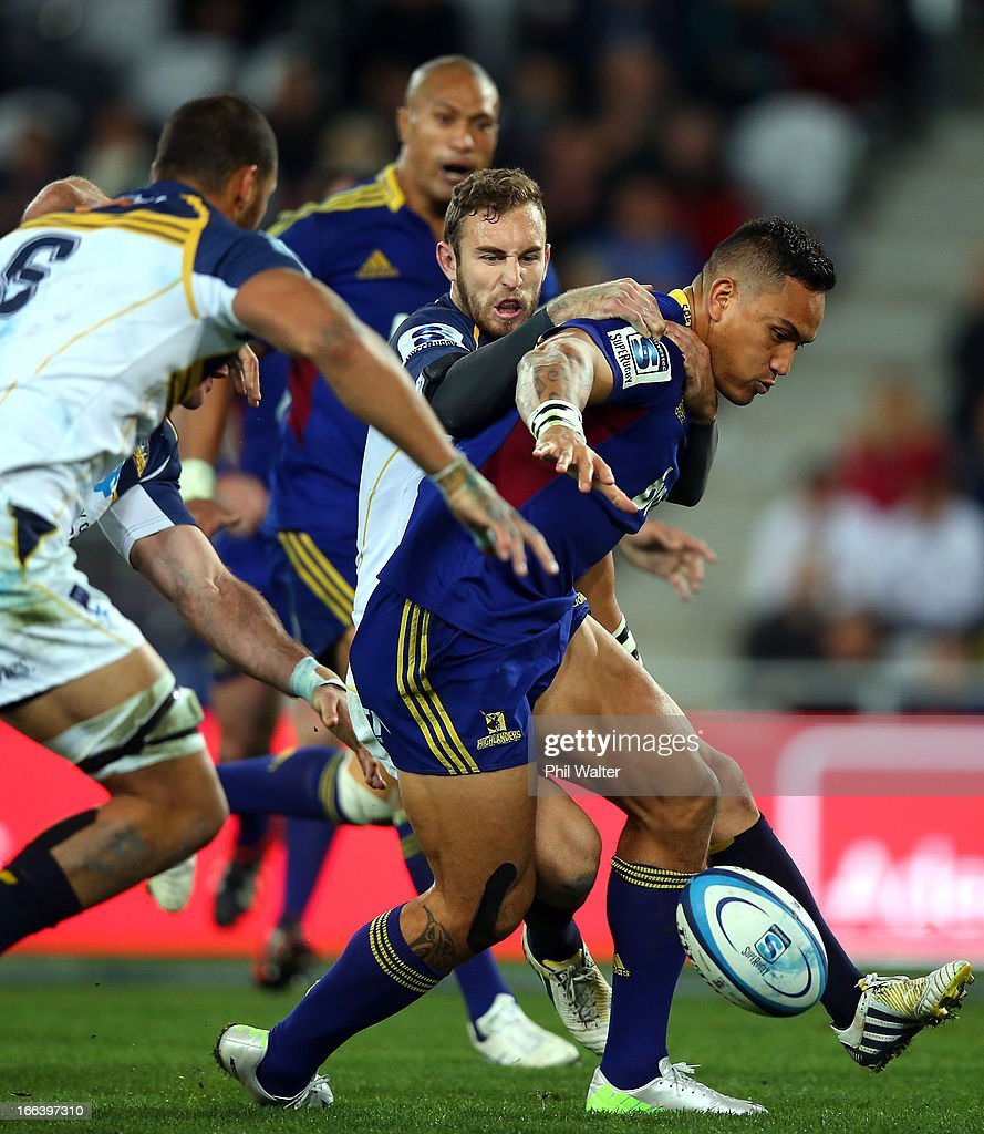 Super Rugby Rd 9 - Highlanders v Brumbies