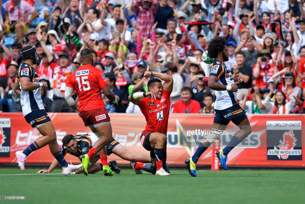 Super Rugby Rd 16 - Sunwolves v Brumbies : ニュース写真