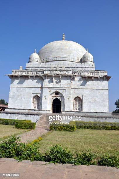hoshang shah tomb, mandu, madhya pradesh, india, asia - hoshang shah's tomb stock pictures, royalty-free photos & images