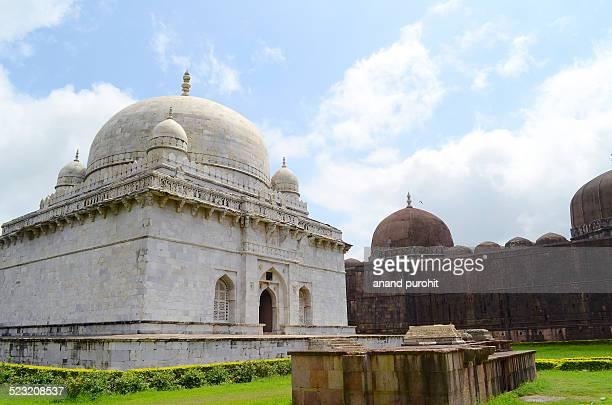 hoshang shah's tomb, mandu, madhya pradesh, india - hoshang shah's tomb stock pictures, royalty-free photos & images