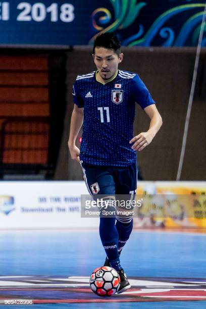Hoshi Shota of Japan in action during the AFC Futsal Championship Chinese  Taipei 2018 Group Stage cb769c2bd75a6