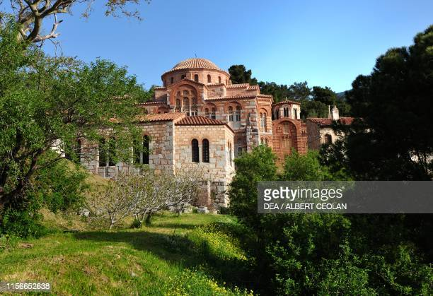Hosios Loukas monastery , Distomo, Greece, 10th-11th century.