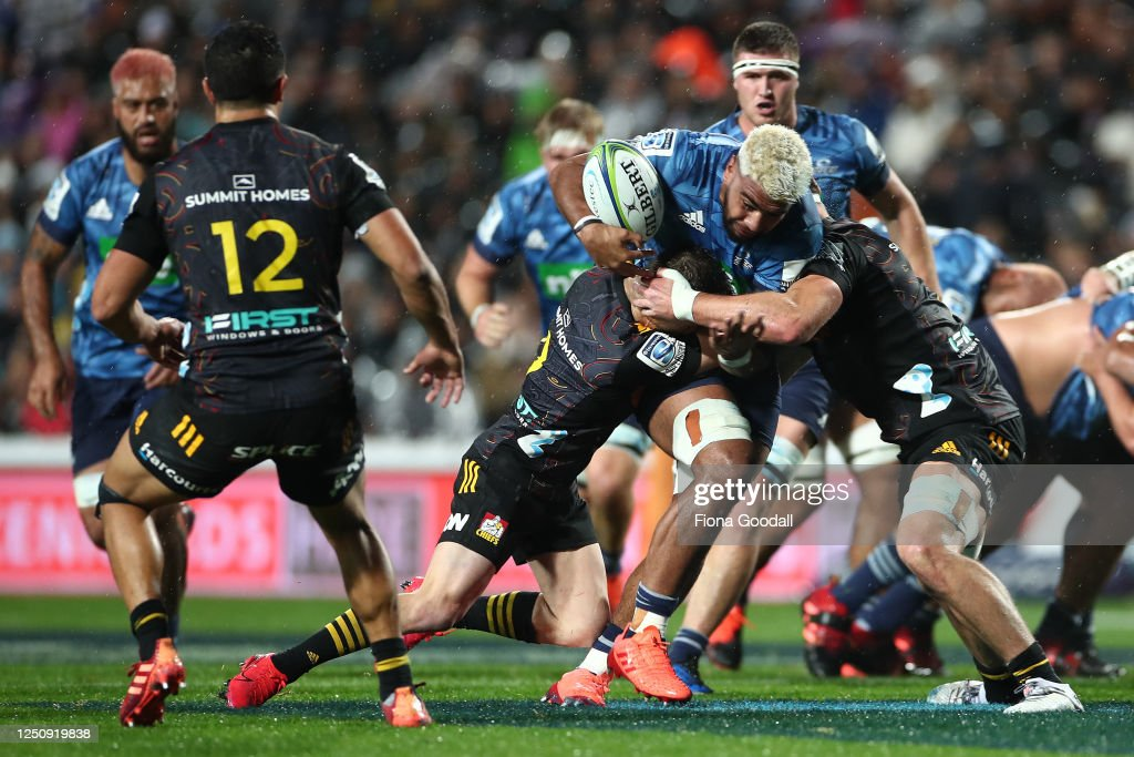 Super Rugby Aotearoa Rd 2 - Chiefs v Blues : News Photo