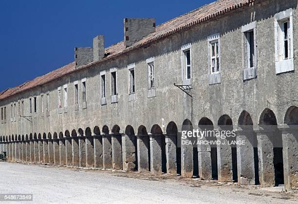 Hospidarias Casa dos Cirios accommodation for pilgrims Nossa Senhora do Cabo de Espichel Historical Province of Extremadura Alentejo Portugal 18th...