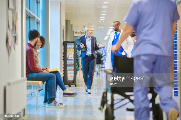 hospital business - ward stock photos and pictures
