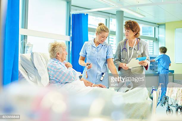 hospital care - ward stock photos and pictures