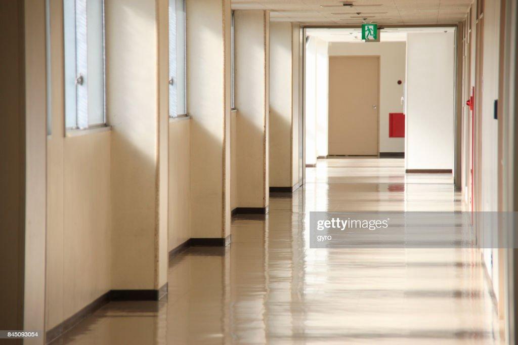 病院の廊下 : ストックフォト