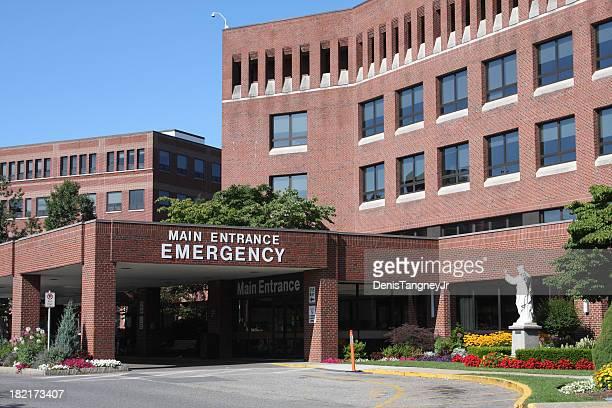 Entrée d'urgence de l'hôpital