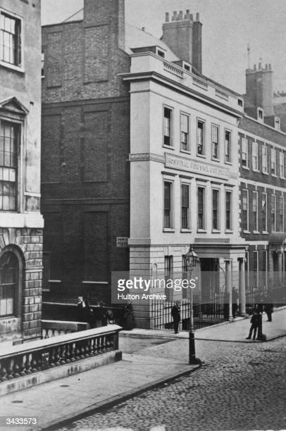 Hospital for sick children on Great Ormond Street in London