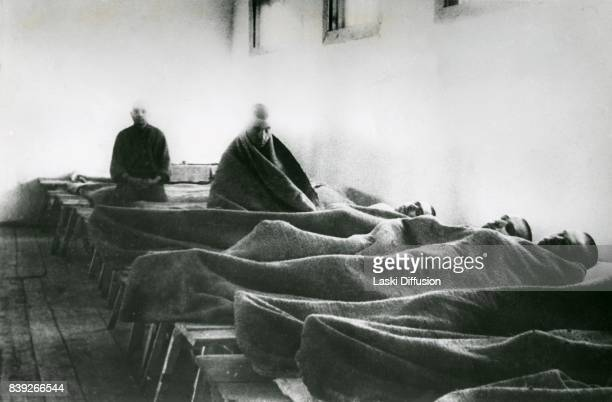 Hospital for the Gulag prisoners working at the construction of the White Sea-Baltic Canal . The canal was constructed between 1931 and 1933 by...