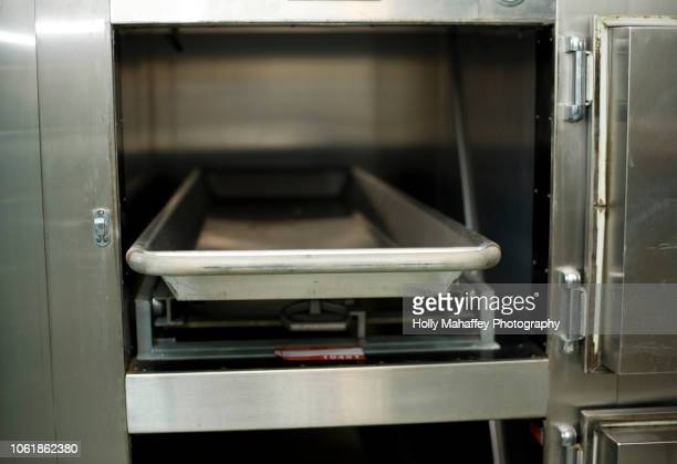 hospital morgue drawers - morgue stock pictures, royalty-free photos & images