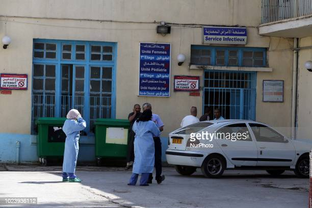 Hospital of Boufarik wilaya of Blida Far from the Algerian capital about 30 km it has 41Cas confirmed of cholera epidemic Algeria on August 26 2018