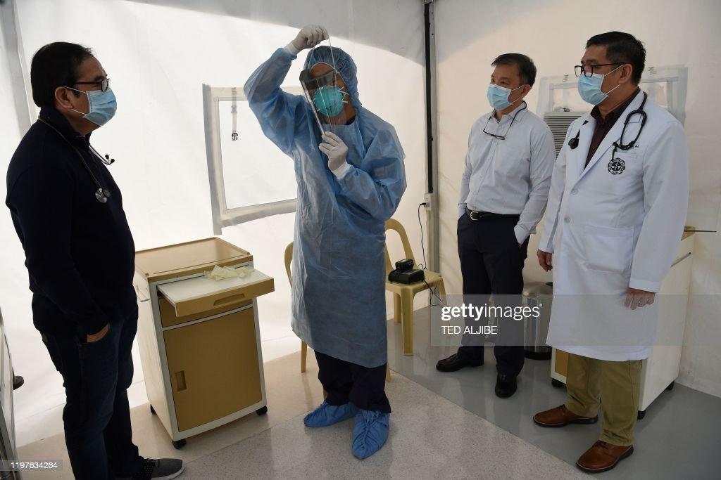 PHILIPPINES-CHINA-HEALTH-VIRUS : News Photo