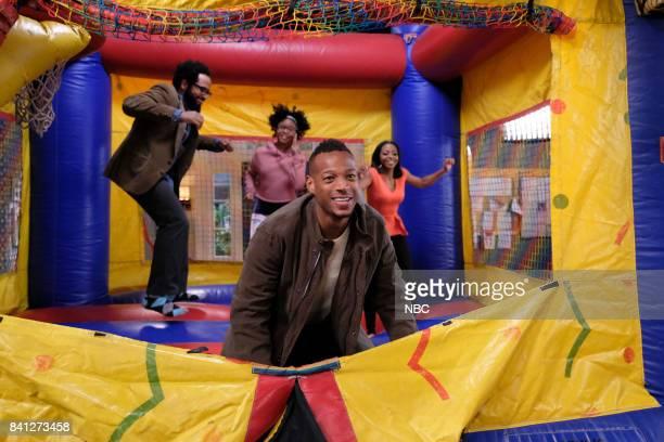 MARLON Hospital Party Episode 107 Pictured Diallo Riddle as Stevie Notlim Taylor as Marley Marlon Wayans as Marlon Bresha Webb as Yvette