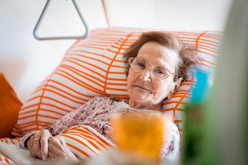 Hospital patient hands to care - gettyimageskorea