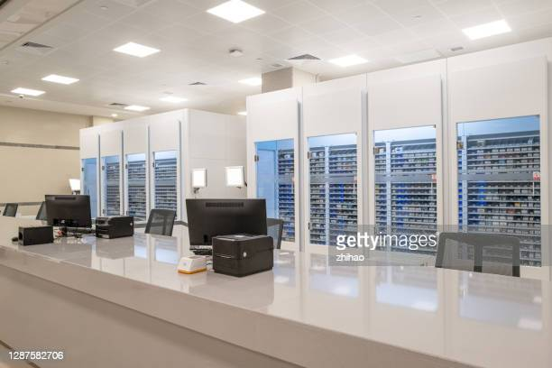 hospital pharmacy - department of health and human services stock pictures, royalty-free photos & images