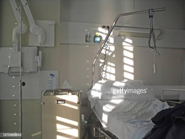 hospital room - chambre hopital photos et images de collection